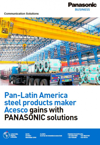 PBX Case Study in Colombia (Steel products maker / Acesco)