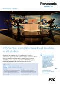 Case Study RTS Serbia: complete broadcast solution - en
