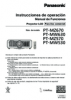 PT-MZ670 Series Operating Instructions (Spanish)
